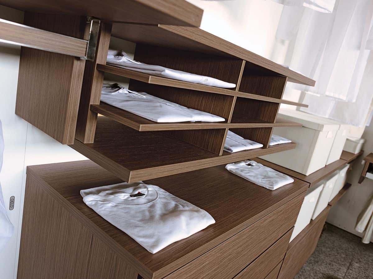 Cabina armadio componibile, con vari accessori | IDFdesign