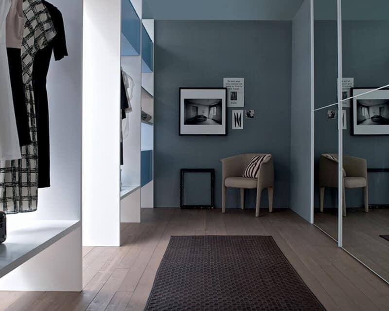 Cabina armadio personalizzabile idfdesign for Cabina a 2 piani