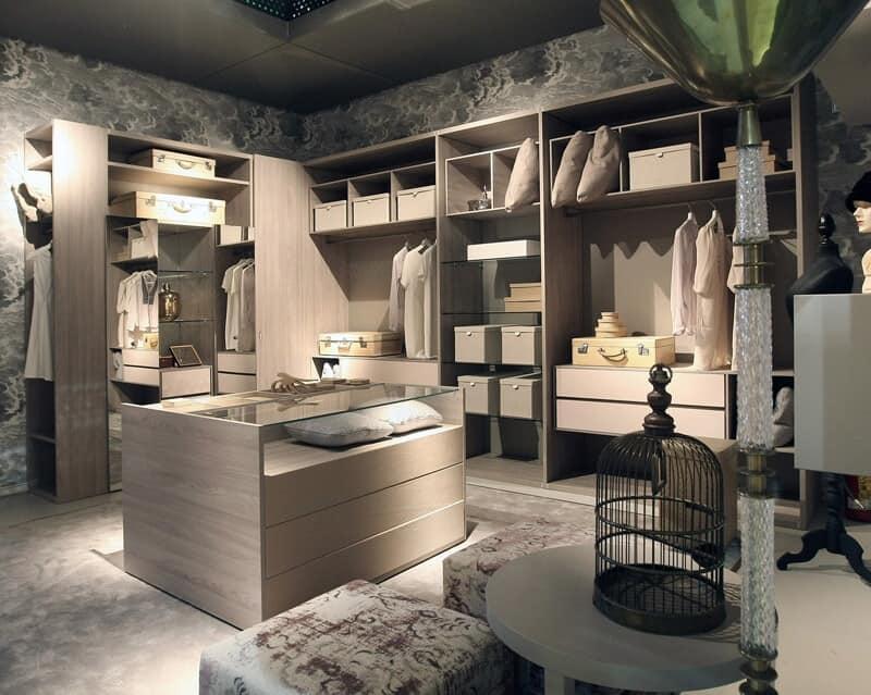 stanza guardaroba design personalizzabile idfdesign. Black Bedroom Furniture Sets. Home Design Ideas