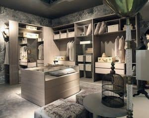 Habitat cabina armadio, Stanza guardaroba design, personalizzabile