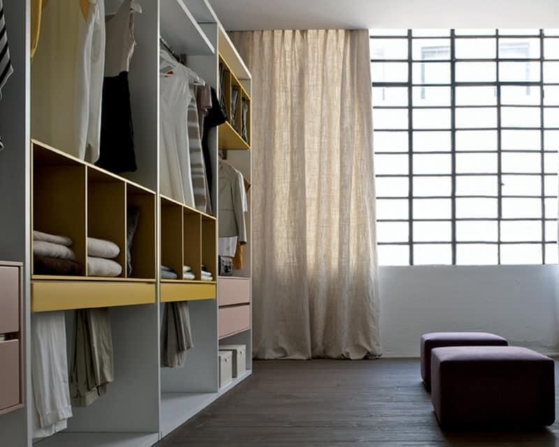 Stanza guardaroba design personalizzabile idfdesign - Stanza armadio ...