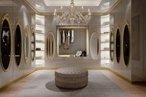 Hotel de Ville Cabina armadio, Cabina armadio di lusso su misura