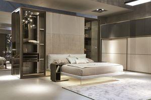 India cabina armadio, Cabina armadio con letto incorporato