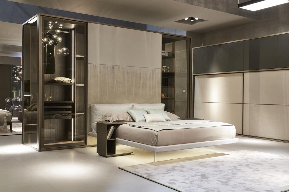 Cabina armadio con letto incorporato idfdesign - Armadio a letto ...