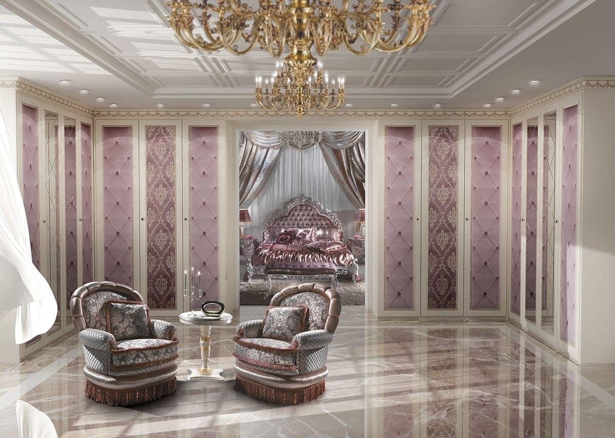 Cabina armadio personalizzabile in stile classico di lusso for Planimetrie della cabina di lusso
