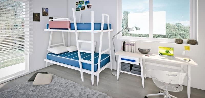 Letti camerette per bambini idf - Camera bambini moderna ...