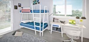 Immagine di Allwood 5M, letto e comodino per bambini
