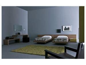 Cameretta Mia - Contract 01, Arredo per camerette per bambini con due letti