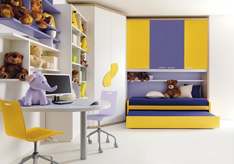 HOME P10 Moderno Indice categorie Letti Camerette per bambini