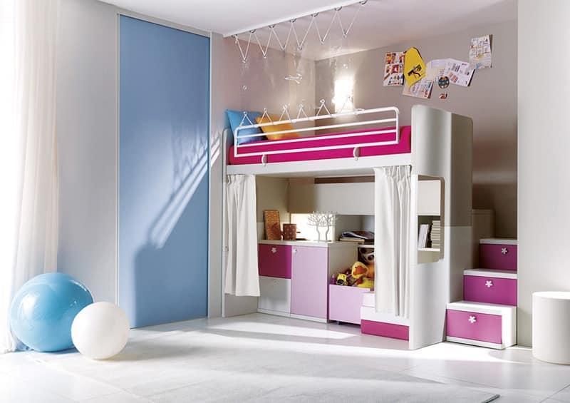 Camera da letto doghe in legno vari colori idfdesign for Camerette design