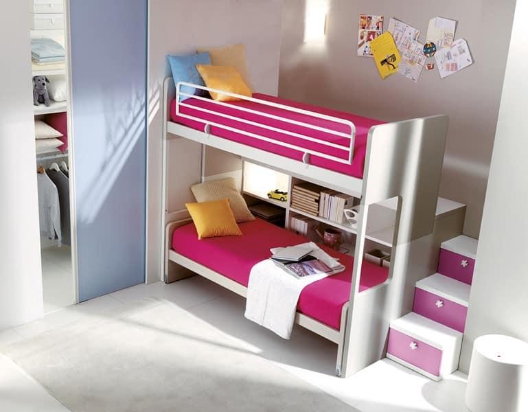 Camera da letto doghe in legno vari colori idfdesign for Arredo cameretta bimba