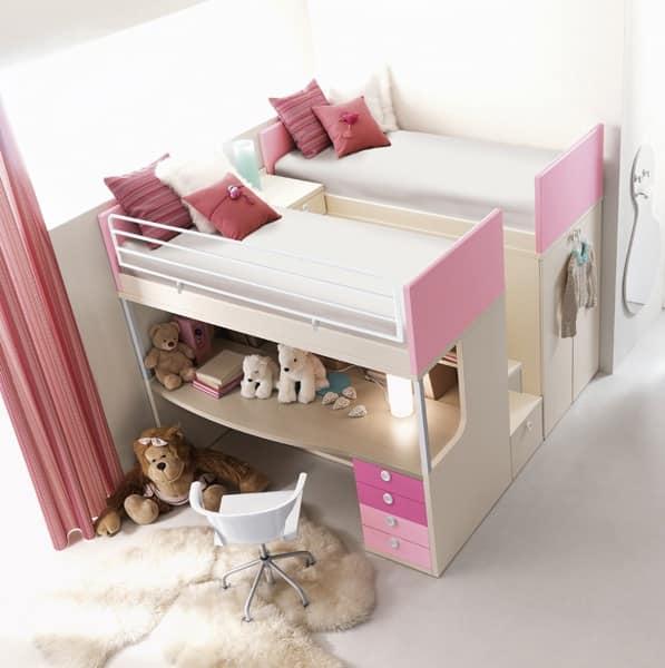 Comp. 910, Camera da letto per bambini, solidit� e affidabilit�