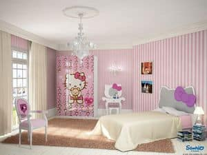 Immagine di Hello Kitty Romantica, camerette colorate