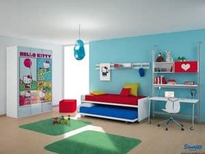 Immagine di Hello Kitty Urban, camerette colorate