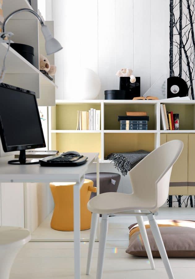 Arredamento per camere da letto per ragazzi con scrivania idfdesign - Camere da letto per ragazzi ...