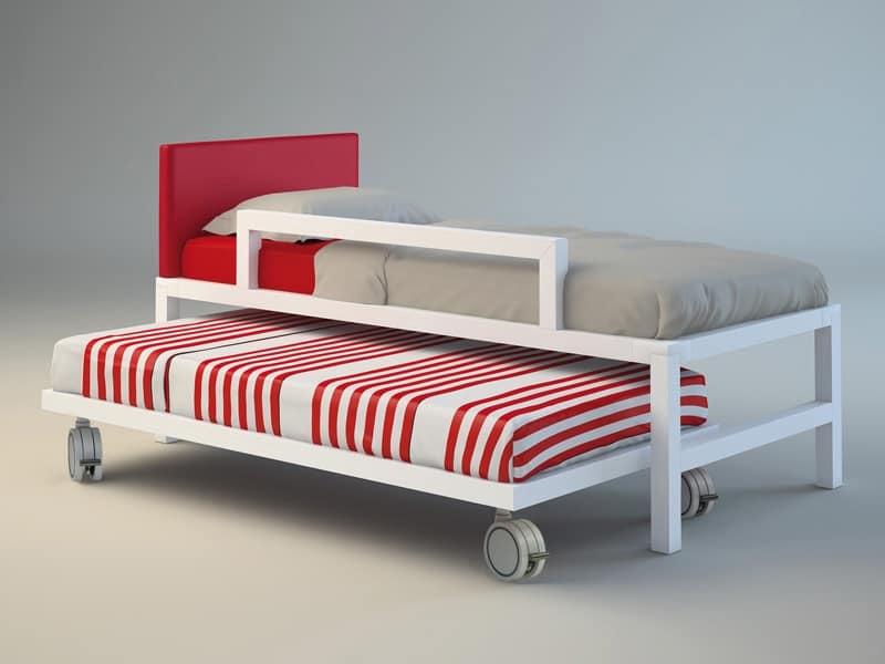 Letto Con Ruote Ikea: Letto con ruote estraibile doppio camera ...