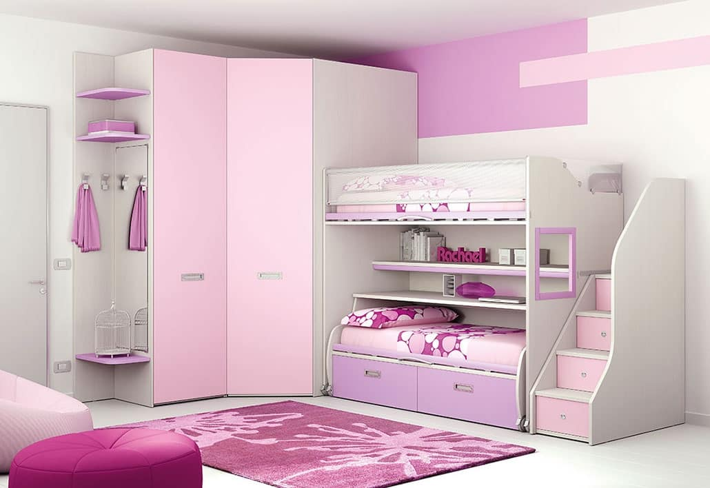 Cabina Armadio Bimba : Awesome camerette con cabina armadio photos design and ideas
