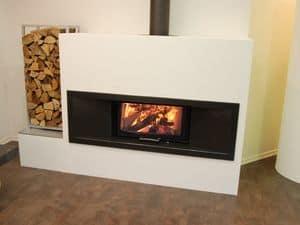 Immagine di New generation 75x39 S, caminetto minimalista