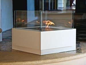 Immagine di Sushi, caminetto minimalista