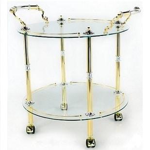 Elegante carrello portavivande in stile classico idfdesign - Carrelli cucina design ...