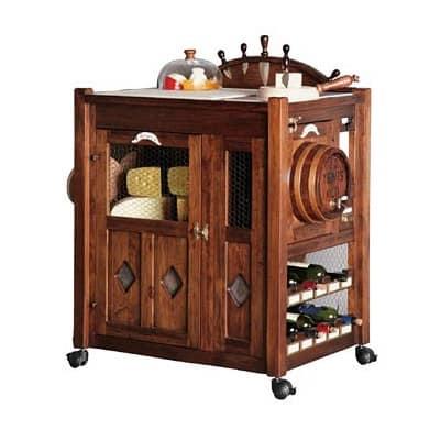 Tavolini con ruote carrello porta vivande carrello vini - Carrello portavivande design ...