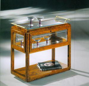 Art Déco Art.530 carrello-bar, Lussuoso carrello per bar