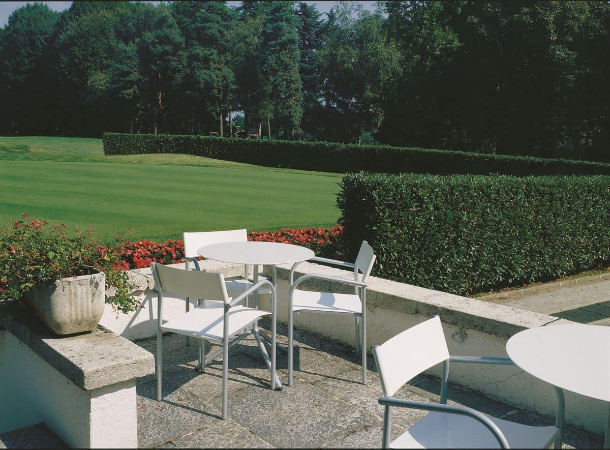 Carrello per tavoli, Carrello per tavoli pieghevoli, ideale per hotel e catering