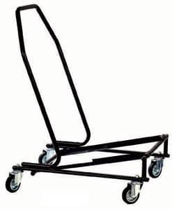 ... Carrelli porta sedie, Carrelli metallo per sedie pieghevoli - Carrello