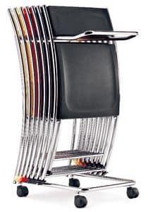 Carrelli per sedie