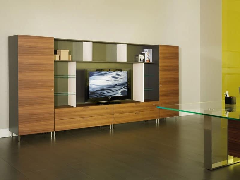 mobili contenitori per studio professionale idfdesign On mobili per studio professionale