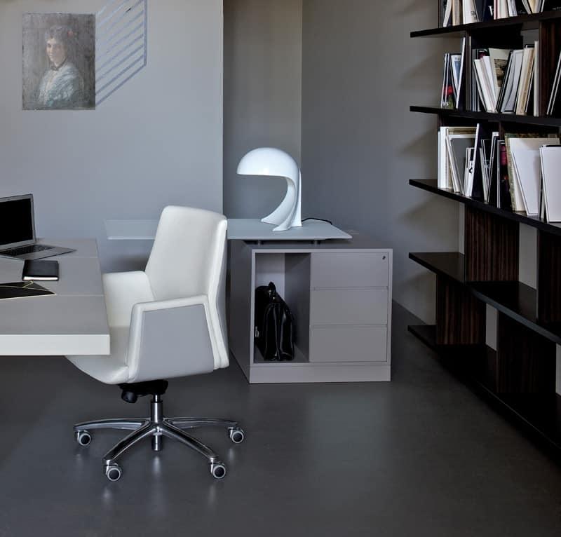 Cassettiere per ufficio idfdesign - Cassettiere ufficio ...