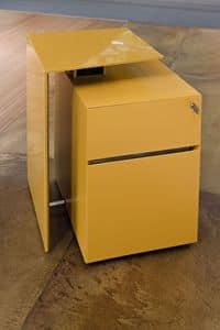 Niemeyer contenitori per ufficio, Cassettiera in metallo per ufficio, con chiave di sicurezza