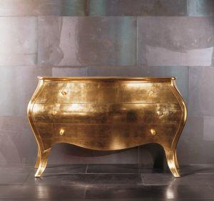 3903 Geranio, Com� in legno, dal design classico