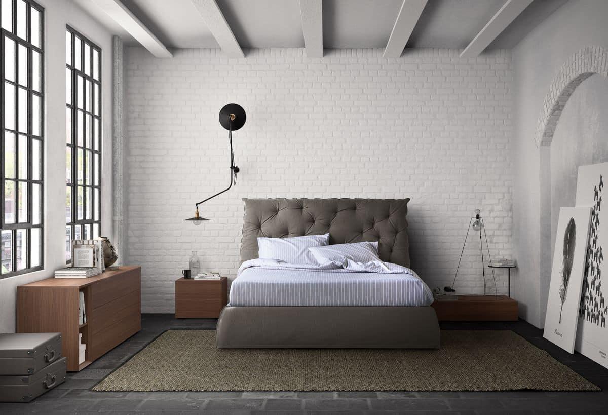 Sistema modulare componibile per camere da letto idfdesign - Camere letto design ...
