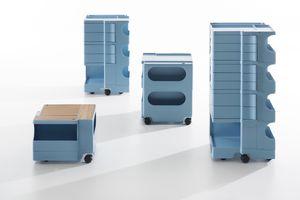 Cassettiere In Plastica Con Rotelle.Ufficio Cassettiere Plastica Con Ruote Idfdesign