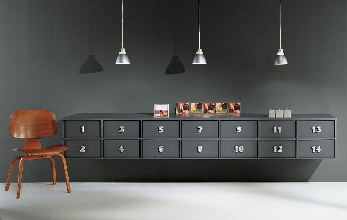 Mobile a cassetti per la casa cassettiera per l 39 ufficio for Cassettiere design per ufficio