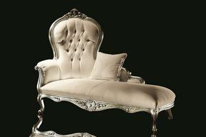 Carol tessuto, Dormeuse in stile classico di lusso