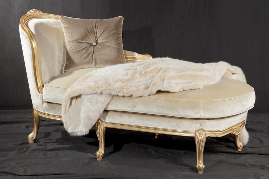 chaise longue stile impero