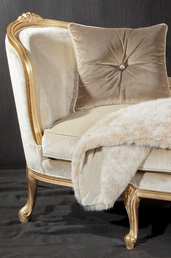 Dormeuse di lusso stile barocco idfdesign for Chaise longue tours