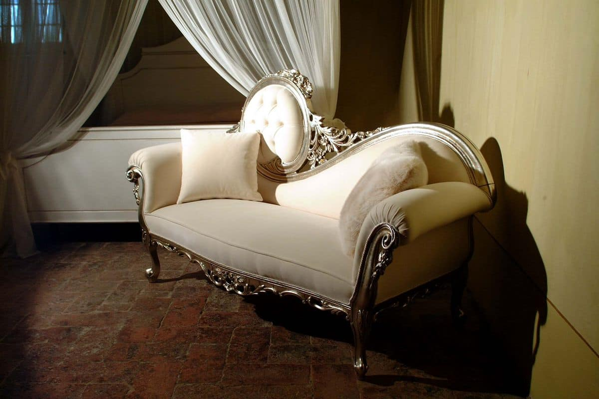 dormeuse in stile barocco per salotti dormeuse classica di lusso per uffici idfdesign. Black Bedroom Furniture Sets. Home Design Ideas
