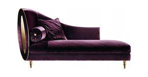 SIPARIO CHAISE LONGUE, Chaise longue in tessuto, stile classico
