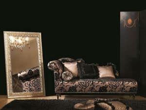 DAISY chaise longue 8545L, Chaise longue, capitonn�, per ufficio classico di lusso