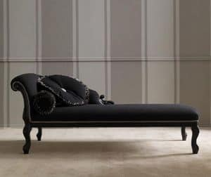 Egiziano 459 dormeuse, Dormeuse classica, elegante e raffinata, per camera d'albergo e area relax