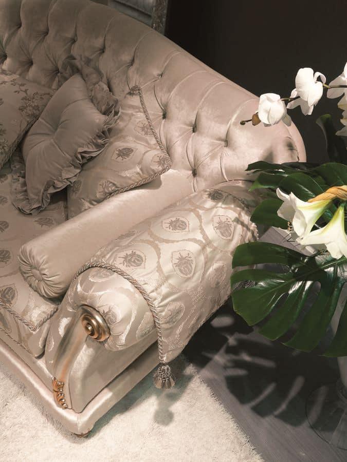 Etoile dormeuse, Dormeuse capitonné ideale per alberghi di lusso