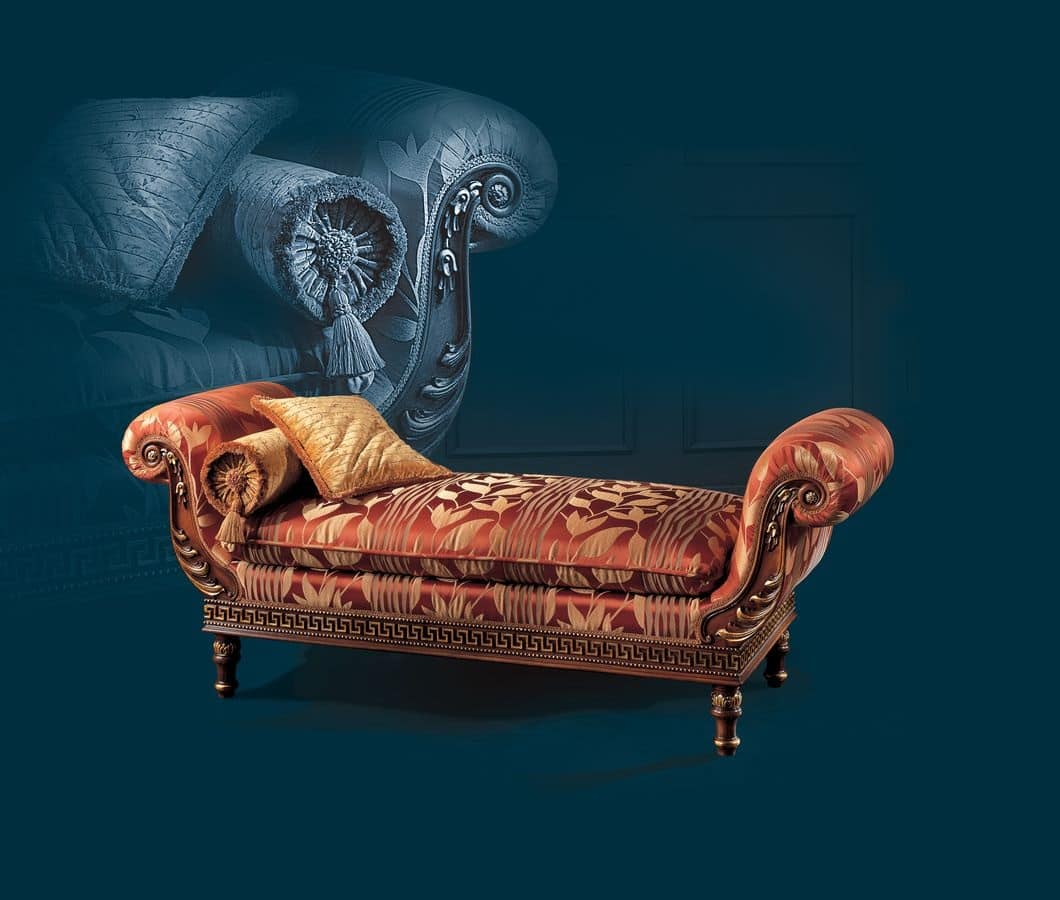 Dormeuse classica di lusso idfdesign for Chaise longue tours