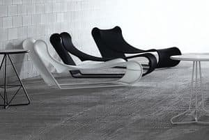 Immagine di California chaise longue, lettini piscina