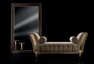 DIAMANTE chaise longue, Chaise longue imbottita per salotto