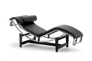 UF 569, Chaise longue in pelle