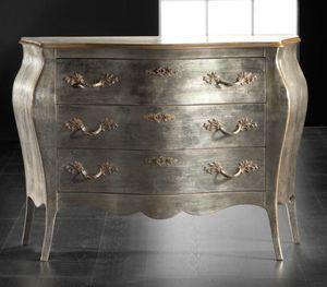Art. 20484, Comò in legno argento