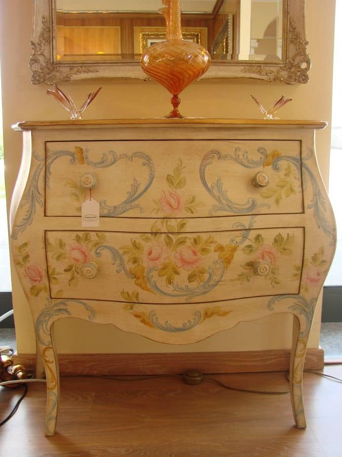 Com classico di lusso laccato per camere da letto idfdesign - Camere da letto classiche di lusso ...